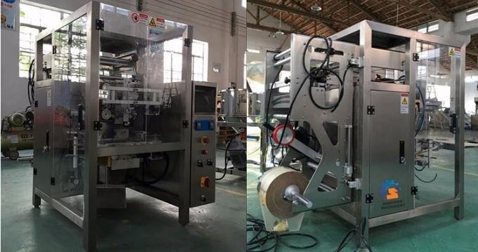 High Performance Snack Vertical Packaging Machine For Sugar / Chips / Pasta