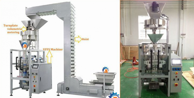 CE Fully Automated Packing Machine For Salt / Rice Pneumatic Driven