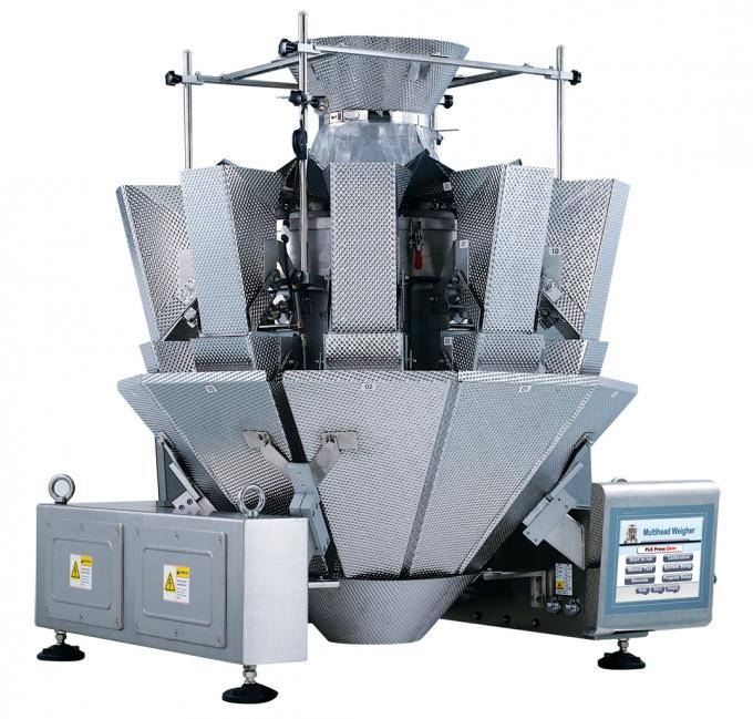 Dry Vegetable Multi Head Packing Machine , 800ML Volume Weighing And Packing Machine