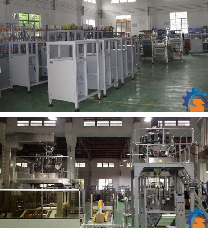 Vertical Semi Automatic Packaging Machine SS304 / Carbon Steel Material
