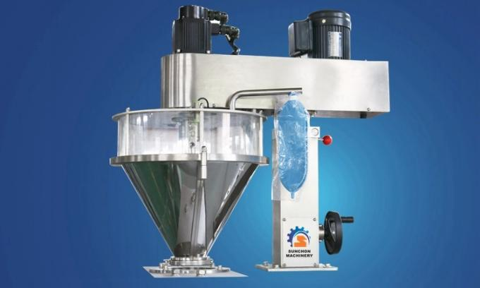 Semi Automatic Flour Packaging Machine , Detergent Powder / Soy Milk Powder Packing Machine
