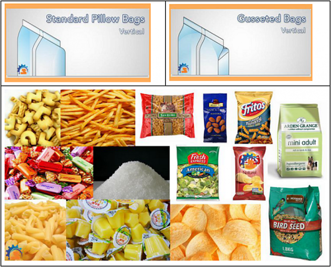 Fully Automatic Peanuts Granular Packing Machine / Green Bean Bag Filling Machine