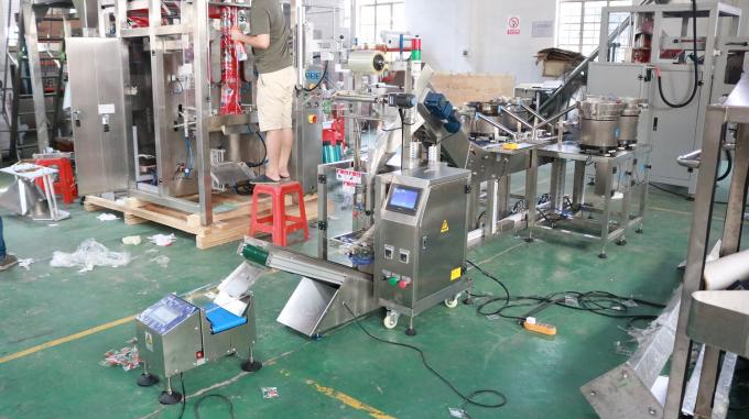 Automatic Hardware Parts Counting Vertical Packaging Machine High Speed