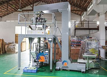 China High Performance Snack Vertical Packaging Machine For Sugar / Chips / Pasta supplier