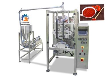 China High Speed Liquid Packaging Machine For Ketchup / Fruit Jam 2.2Kw Power factory