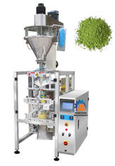 Green Tea Powder Packaging Machine 220V Input Voltage Anti Corrosion Surface