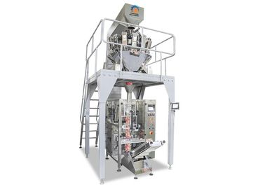 China 10 Heads Multihead Weigher Packing Machine , SS Sugar Packaging Machine supplier
