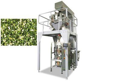 China Dry Vegetable Multi Head Packing Machine , 800ML Volume Weighing And Packing Machine supplier