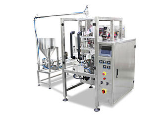 China CE Salad Jam Packaging Machine , 2.2KW Liquid Sachet Packaging Machine factory