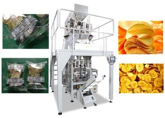 China High Speed Multihead Weigher Packing Machine / Automatic Chips Packing Machine factory