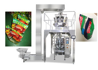 China Gusseted / Pillow Bag Packaging Machine For Food , Vffs Packing Machine supplier