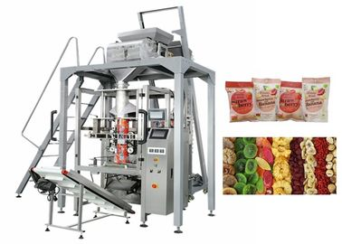 China Dried Fruit Linear Weigher Packing Machine 5 - 70 Bags / Min Packing Speed supplier