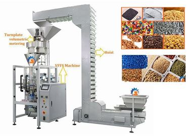 China Volumetric Cup Vertical Form Fill Seal Machine For Lentils / Sugar supplier