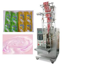 China Shampoo Liquid Packaging Machine With Schneider Electrics PLC Controller factory