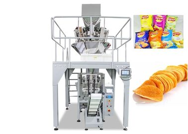 China Automatic Food Packing Machine With Multihead Weigher CE Certification supplier