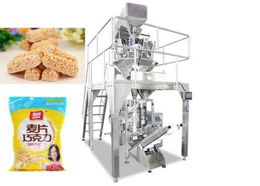 China SS304 Material Food Packing Machine / Snack Packaging Machine supplier