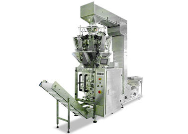 China Multi Heads Weigher Vertical Form Fill And Seal Machines , Chips Packing Machine supplier
