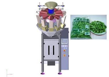 China Frozen Vegetables Vertical Form Fill Seal Machine CE Approved Electric Driven supplier