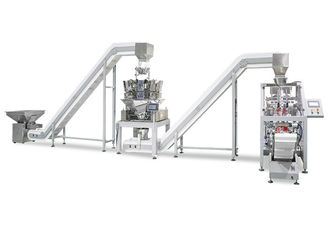 China 2 Head Linear Weigher 4 Head Linear Weigher Vertical Form Fill Seal Machine supplier