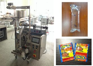 China 3 Side / 4 Side Seal Sachet Packaging Machine , Ketchup Shampoo Packing Machine factory