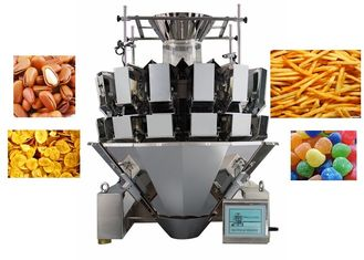 Food Packing With Scale  Automatic Weighing Multihead Weigher