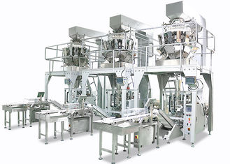 China 50 / 100g Automatic Chips Packing Machine , 10 Heads Weighing And Packing Machine supplier