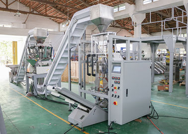 China Full Automatic Pet Food Packaging Machine , Multi Head Weigher Packing Food Machine supplier