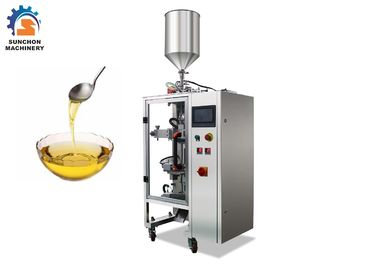 China 1.2kw Liquid Packaging Machine , Multifunction Edible Oil Pouch Filling Machine supplier