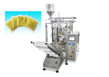 China Vertical Automatic Small Sauce Packing Machine / Liquid Automatic Packaging Machine factory