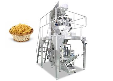 China Automatic Spaghetti Noodle Packing Machine with Multi Heads Weigher factory