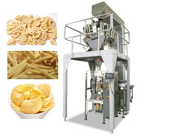 China Multi-Function Small Scale Packaging Machine For Popcorn / Sugar / Crisps / Peanut factory