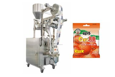 China Automatic Small Soft Candy Sachet Packing Machine With Stepping Motor factory