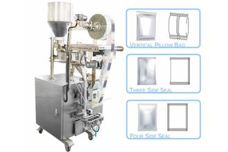 China 50 - 500g Granule Pillow Bag Sealing Sachet Packing Machine For Seeds / Fry Foods supplier