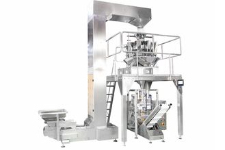 China Multi Heads Weigher Food Packing Machine Stainless Steel 304 Material supplier
