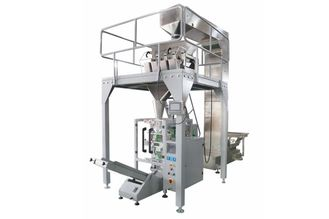 China Fully Automatic Peanuts Granular Packing Machine / Green Bean Bag Filling Machine supplier