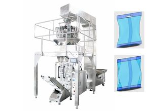 China Vertical Automated Packing Machine , 10 Heads Weigher Rice Seal Pack Machine supplier