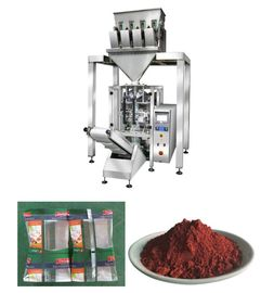 China Vetical Iron Oxide Powder Packaging Machine With 4 Heads And Vacuum Feeder supplier
