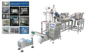 China Automatic Hardware Parts Counting Vertical Packaging Machine High Speed supplier