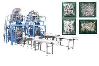 China Pipe Fittings / Bolts Multi Head Pouch Packing Machine With Mild Stainless Steel Body factory