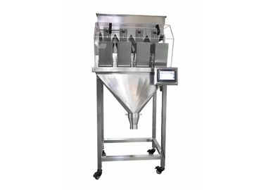 China 4 Heads Linear Scale Multi Head Pouch Packing Machine For Sugar , Pet Food , Beans factory
