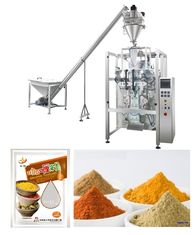 China Corn / Wheat / Turmeric Powder Packing Machine With PLC Control supplier