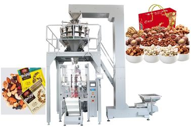 China High Efficiency Automatic Multihead Weigher Packing Machine / Snack Food Bagging Machine supplier