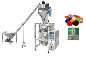 China Flour / Wheat / Detergent Powder Automated Packing Machine With Colorful Touch Screen Control supplier