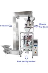 High Speed Granule Bean / Sugar / Salt Automated Packing Machine With PLC Control Multi - Function