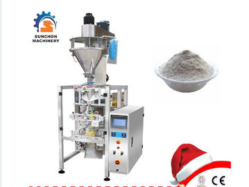 Automatic Vffs Barley Flour Powder Milk Powder  Spices Powder Packaging Machine With PLC Control