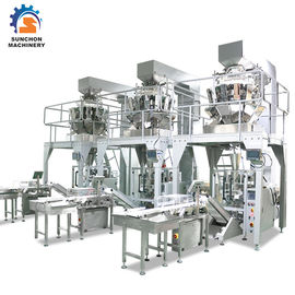 China Vertical Form Fill Seal Packing Machine / Omron PLC Food Bag Former supplier