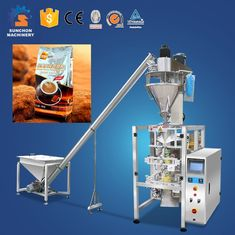 Chocolate / Cocoa / Coffee Powder Flour Packaging Machine With Touch Screen Multi Function