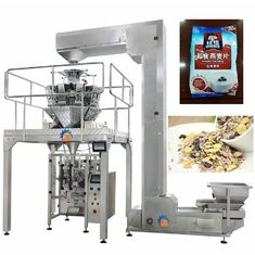 Standard Positioning Instant Oatmeal Packing Machine With Auto Warning Protection Function