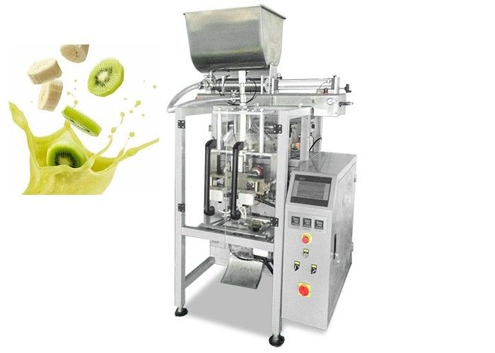 High Precision Juice Packaging Machine , Automatic Water Filling And Sealing Machine supplier