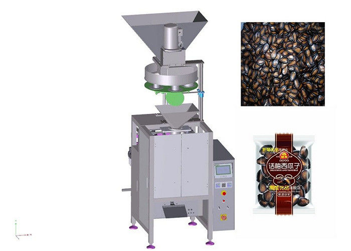 Full Automatic Vertical Pouch Packing Machine , Melon Seed Packaging Equipment supplier